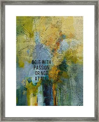 Abstract Tarot Art 020 Framed Print