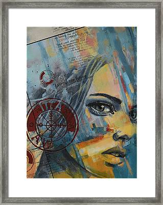 Abstract Tarot Art 022a Framed Print by Corporate Art Task Force