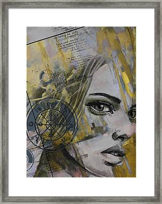 Abstract Tarot Art 022b Framed Print by Corporate Art Task Force