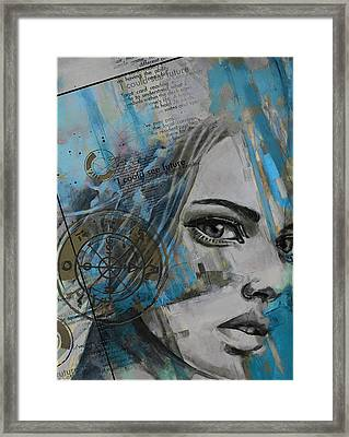 Abstract Tarot Art 022c Framed Print