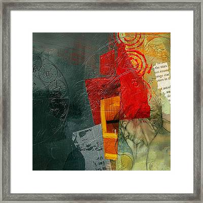 Abstract Tarot Card 004 Framed Print by Corporate Art Task Force