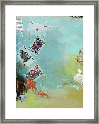 Abstract Tarot Card 009 Framed Print