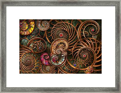 Abstract - The Wonders Of Sea Framed Print by Mike Savad