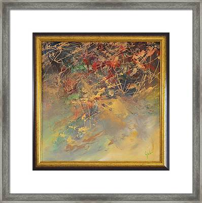 Abstract Thought By Mihaela Ghit Framed Print