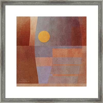 Abstract Tisa Schlemm 03 Framed Print