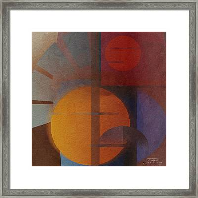 Abstract Tisa Schlemm 05 Framed Print