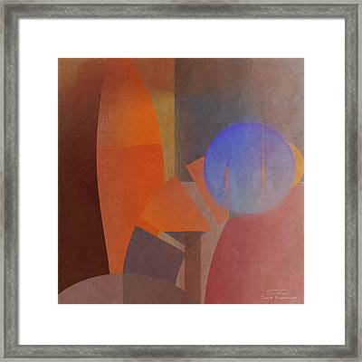 Abstract Tisa Schlemm 06 Framed Print