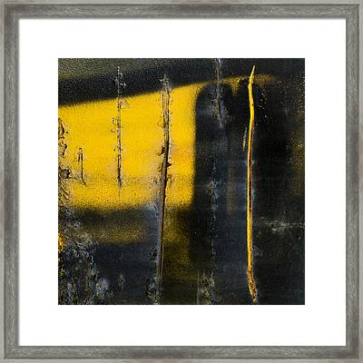 Abstract Train Art Framed Print by Carol Leigh