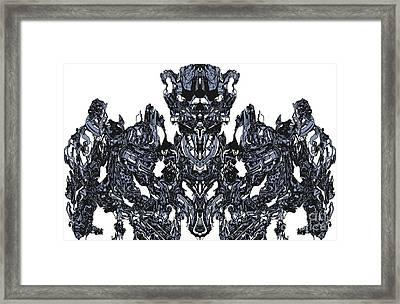 Abstract Transformer Framed Print by Carly Anderson