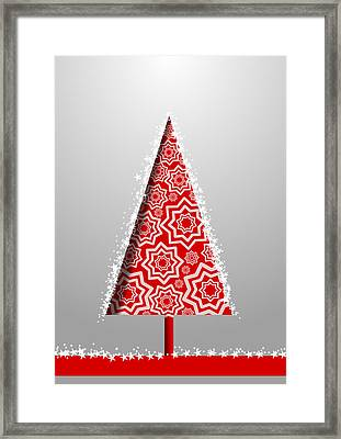 Christmas Card 21 Framed Print by Martin Capek