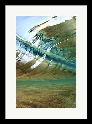 Ocean Floor Framed Prints