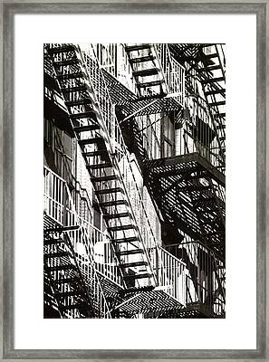 Abstract Urban Framed Print