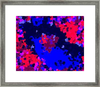 Abstract Valentine 6-13 Framed Print by L Brown