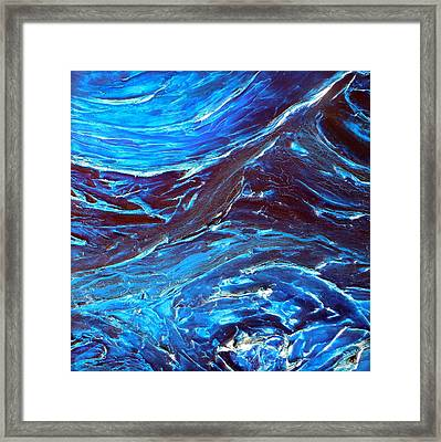 Abstract Water Painting Series 2 Framed Print