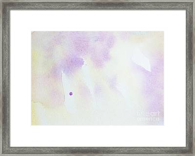 Abstract Watercolor Background  Framed Print