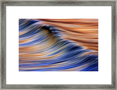 Abstract Wave 2  C6j7799 Framed Print