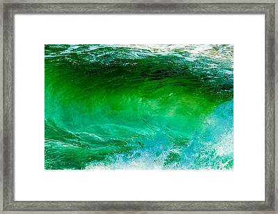 Abstract Wave 3 Framed Print