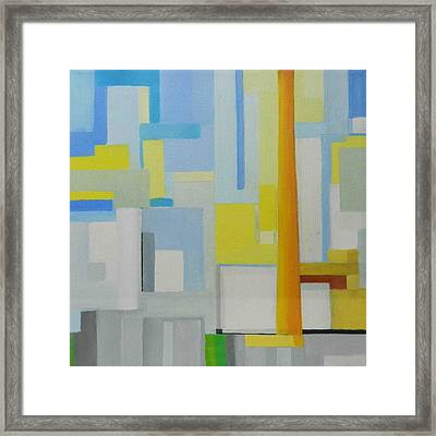 Abstract Western Sugar Framed Print by Ron Erickson