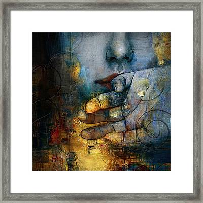 Abstract Woman 011 Framed Print