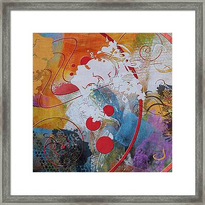 Abstract Women 012 Framed Print