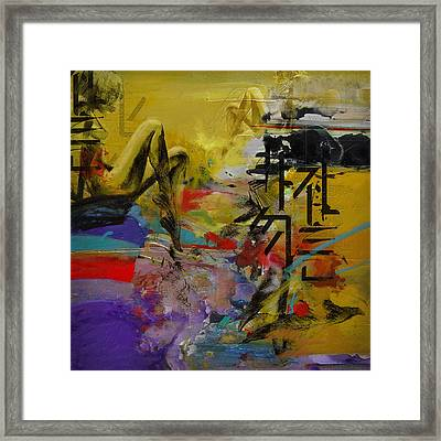 Abstract Women 016 Framed Print
