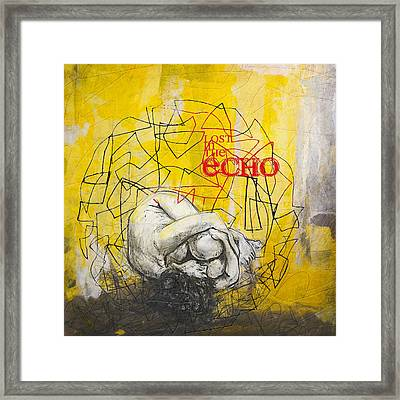Abstract Women 022 Framed Print