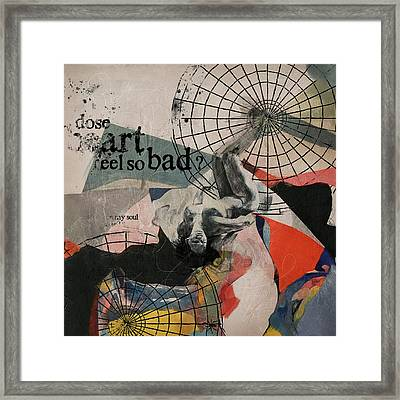 Abstract Women 024 Framed Print