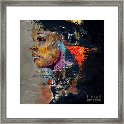 Abstract Women 20 Framed Print by Mahnoor Shah