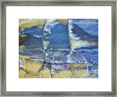Abstract World Framed Print by Reb Frost