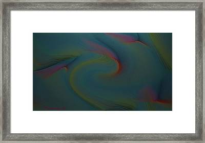Abstract-x-3 Framed Print by Ines Garay-Colomba
