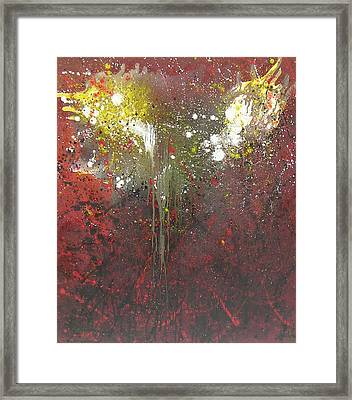 Abstract1 Framed Print by Min Zou