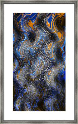 Abstract11 Framed Print by Timo Luomanpera