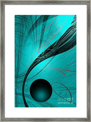Abstract170-2014 Framed Print