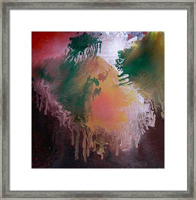 Abstract2 Framed Print by Min Zou