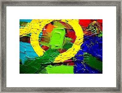 Abstracted II Framed Print by John  Nolan