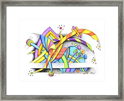 Abstracted Framed Print