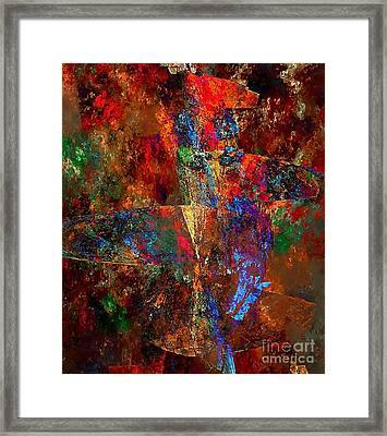 Abstraction 0393 Marucii Framed Print