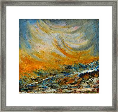 Abstraction-1 Framed Print by Anand Swaroop Manchiraju