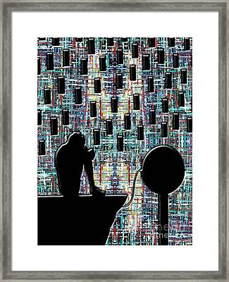 Abstraction 104 Framed Print by Patrick J Murphy