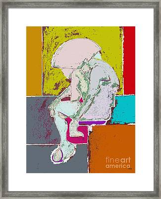 Abstraction 113 Framed Print by Patrick J Murphy