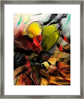 Abstraction 122614 Framed Print by David Lane