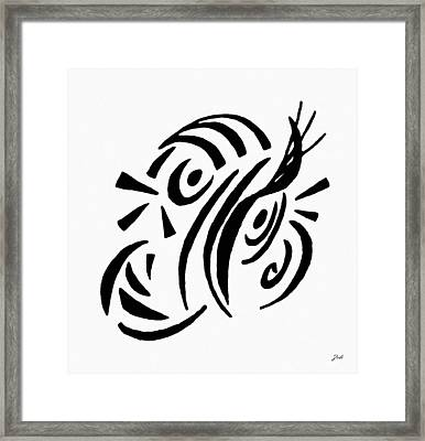 Astratto - Abstract 13 Framed Print