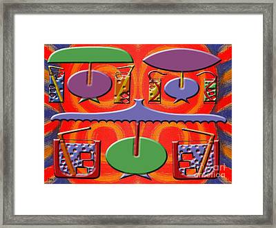 Abstraction 177 Framed Print by Patrick J Murphy