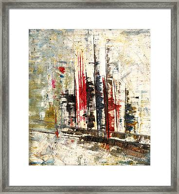 Abstraction-2 Framed Print by Anand Swaroop Manchiraju