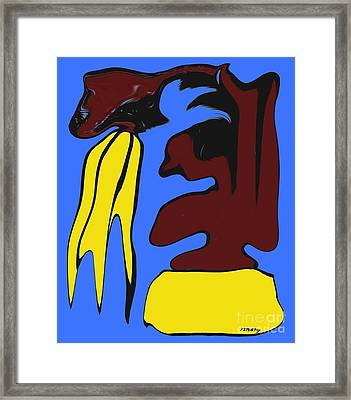 Abstraction 229 Framed Print by Patrick J Murphy