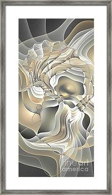 Abstraction 234-03-13- Marucii  Framed Print
