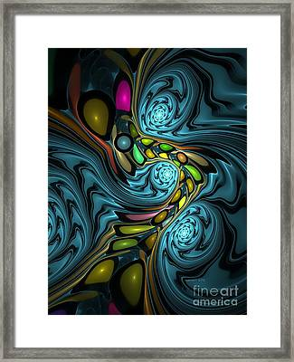 Abstraction 254-06-13 Marucii Framed Print