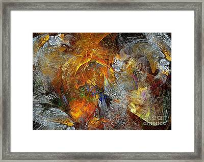 Abstraction 435-08-13  Marucii Framed Print