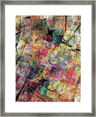 Abstraction 442-09-13 Marucii Framed Print