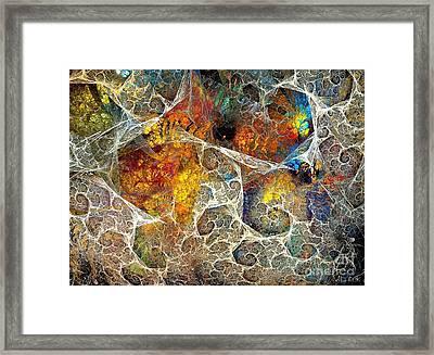 Abstraction 462-09-13 Marucii Framed Print